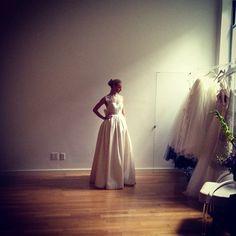 #Emanuelle Bridal Spring 2013 #love #bridal #wedding #spring @wedding_style #MikeColon - @francescaonline- #webstagram