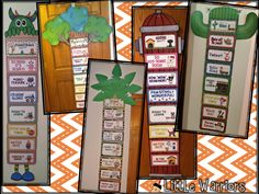 Super cute Behavior clipcharts in lots of different themes!!!!
