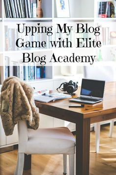 Want to take your blog to the next level, or finally stop spinning your wheels? Elite Blog Academy offers a comprehensive framework and a step-by-step plan for creating a successful, profitable blog. It was by far the best investment I have ever made for my business, and the money-back guarantee means you literally have nothing to lose! Doors are only open for five days–don't miss your chance! http://happyprettyblog.com/upping-my-blog-game-with-elite-blog-academy/