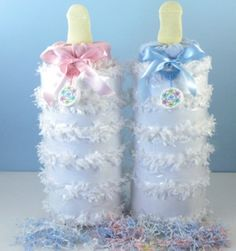 Baby Bottle of Diapers