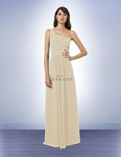 Bridesmaid Dress Style 771 - Bridesmaid Dresses by Bill Levkoff Colors: Champagne or Petal Pink