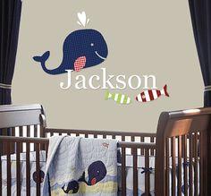 Pottery Barn Jackson Bedding Inspired Vinyl by LuLuLemonadeShop, $40.00