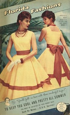 "likesoldclothes: "" ""Florida Fashions"" catalog, 1957 """