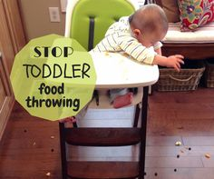 Feeding a toddler takes patience for a variety of reasons. Learn five tips to stop one of the greatest challenges, food throwing.