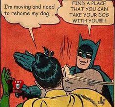 Listen to Batman!! LOVE THIS!!!