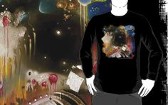 The Rock Art Clothing range is coming online! Get your unique garment now.choose which style and colour you want. 'Dancing in the Void' — Pink Floyd (The Rock Art Series) by Cherie Roe Dirksen Gifts For Him, Great Gifts, Art Series, Pink Floyd, Rock Art, The Rock, Christmas Sweaters, Long Sleeve Tees, Abstract Art