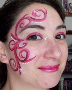 elvish face painting - Google Search