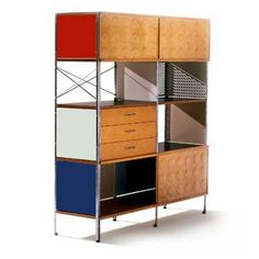 bookcase designed by the famous Charles & Ray Eames that is still in production