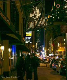 Birdland Jazz Club - Outside