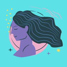 The Aquarius Moon Woman is Eccentric & Interesting | Basically Wonderful Moon In Aquarius Woman, Moon In Leo, Virgo Horoscope Today, Virgo Zodiac, Pain In The Ear, Virgo Personality, Words To Describe Yourself, Lucky Colour, Birth Chart