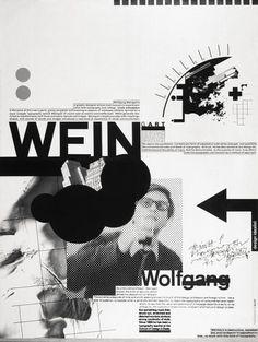Wolfgang Weingart poster