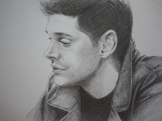 Sketch of Supernatural Dean Winchester