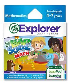 Another great find on #zulily! Leapschool Math E-Book #zulilyfinds