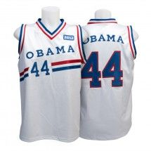 Stereotyping much, Obama?  I don't see an Obama hockey jersey or baseball shirt... lol