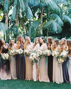 Bridesmaid dress idea; Featured Photographer: This Modern Romance