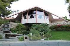 Elvis honeymoon hideway 1967 to 1968 in Old Las Palmas, Palm Springs, California. Also an example of the area's beautiful Mid-Century Architecture.