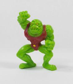 Monster Wrestlers In My Pocket - W16 Toad Trasher - Meg - Figures - Retro Toys