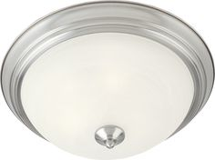 South Shore Decorating: Maxim Lighting 5840MRSN MX Traditional Flush Mount Ceiling Light MX-5840MRSN