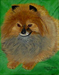 My Bella Photo and painting by Rachel Munoz Striggow