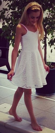 Chloe Lukasiak modeling for Sally Miller I ❤ her style!!