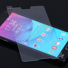 $3.04 (Buy here: http://appdeal.ru/ac6b ) 0.26mm 9H Hardness Practical Tempered Glass Screen Protector for Samsung Galaxy Note4 N9100 for just $3.04