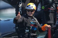 The nice thing about this team is that we never gave up. Jimmy [Spithill] didn't flinch, he's such a fighter, and that was so impressive. Even the other sailors just kept on getting stronger. They went out there every day believing they were going to win. With their backs to the wall, they still went out there believing they could win. Impressive.