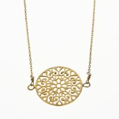 Necklace | I am jai | GoldPlated Filigrain - PuurStyle.nl