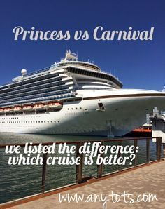 Princess Cruises vs Carnival: Lesen Sie vor der Buchung Ihres n … - Rosenmontag Cruise Port, Cruise Travel, Cruise Vacation, Bahamas Cruise, Italy Vacation, Disney Cruise, Vacation Trips, Vacation Ideas, Packing List For Cruise