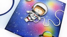 MFT: February 2017 Release Class - Space Explorer stamp  (Pin#1:  Die/Stamp: MFT.  Pin+: Background: Watercolors; Children: Boys).