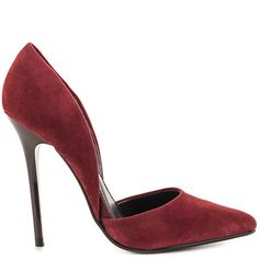 Varcityy - Wine Suede by Steve Madden