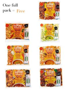 Asda - Good & Balanced Veg Packs