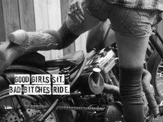 Nalezený obrázek pro Girls On Harley-Davidson Motorcycles Motocross, Biker Quotes, Motorcycle Quotes, Motorcycle Girls, Motorcycle License, Lady Biker, Biker Girl, Biker Baby, Harley Davidson