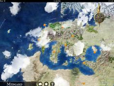 App Review: Midgard Atlas for iOS from Open Design and WyvernX