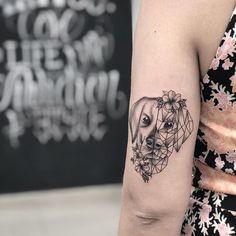 Ideas dogs tattoo labrador for 2020 Tribal Tattoos, Hand Tattoos, Elephant Tattoos, Wolf Tattoos, Trendy Tattoos, Arm Tattoo, Body Art Tattoos, Sleeve Tattoos, Tattoos For Women