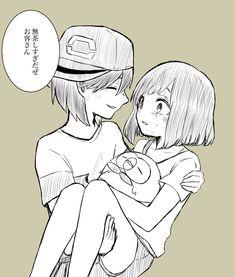 ぱなこ @panako2557 Pokemon Mew, First Pokemon, Pokemon Ships, Pokemon Special, Pokemon Comics, Awesome Anime, Anime Love, Pokemon Adventures Manga, Pokemon Ash And Serena