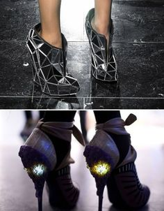 Chaves' Invisible heels AND Rodarte's Illuminated Heels #OMG #WANT #NEED