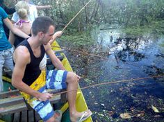 Amazon Gero Tours: Fishing for Piranhas