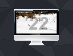Ski Hill 60 second countdown clock - Youth Ministry Media Store