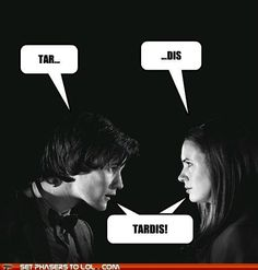 Doctor Who humor.  Love it!