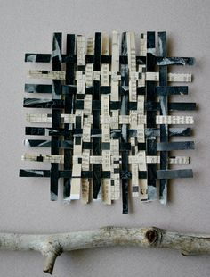 Crossword Paper Weaving