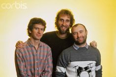 "British Rock Band ""Genesis"" 1983"