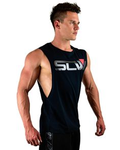 Miami Sleeveless - SLW A stylish sleeveless tee designed to perform in the gym!