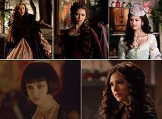 Katherine's Hair Through the Years on Vampire Diaries