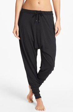 Omgirl 'Retreat' Overdyed Graphite Harem Pants available at #Nordstrom