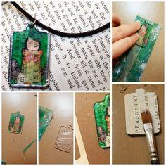 Como hacer transferencias de Imagenes con cinta de celofan - enrHedando y también trasferencia con pintura acrílica a madera