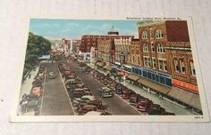 Mayfield Kentucky Broadway Store Fronts Street View Antique Postcard