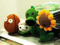 Plants versus Zombies Dolls   Plants versus Zombies crochet …   Flickr