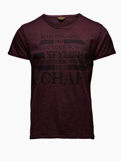 Rules of a gents - Jack and Jones vintage clothing. Claus Pedersen · T- Shirts cd4c556103c