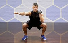 Blast your middle, pack on muscle, and sweat your way to a six-pack with this grueling new squat variation