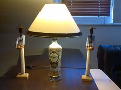 Vodka Bottle lamp - info@biradetvar.com